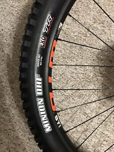 New Maxxis Minion DHF 29x2.3 Set of Tubeless ready tires