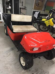 EZGO work Golf Cart Gas