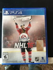 EA NHL 2016 PS4