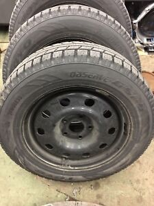 Winters on factory rims! 225 65 17