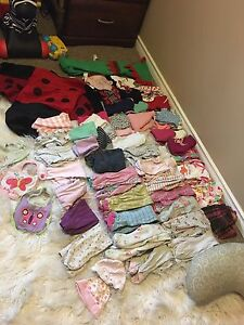 3-6&6 month girls clothes