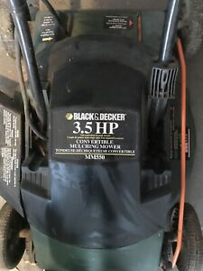 Black and Decker Electric lawn mower. Works great!