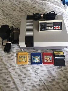 Original NES mint condition & original Pokemon games! Cheap!!!!!