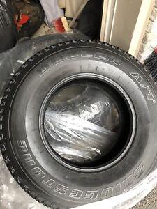 All season tires  Bridgestone Dueler A/T
