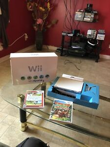 Wii cib with 2 games