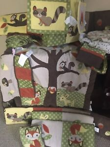 Woodlands crib set