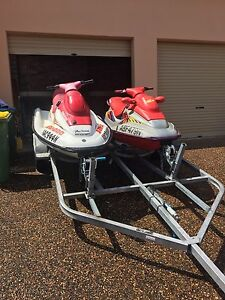2 skis and double trailer The Entrance North Wyong Area Preview