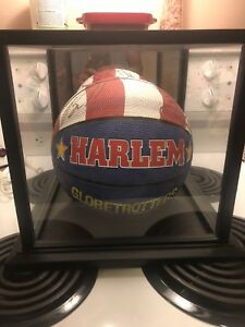 Signed Harlem globetrotters basketball