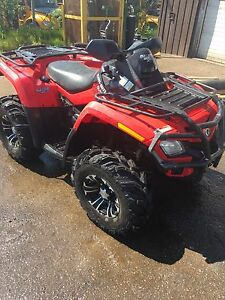 2010 can am 800r xt $7000 firm or trade