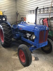 1953-1958 Fordson Major Diesel