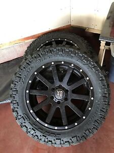 F150 Off-road Rims and Tires.