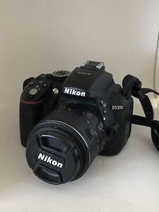 Nikon D5300 with 18/55mm kit lense