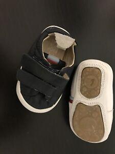 Tip Toey Joey - soft leather trainers