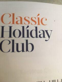 Classic holiday club membership- Time share