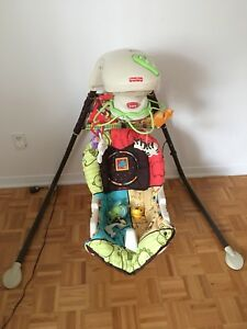 Balançoire fisher price