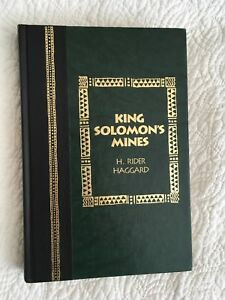 King Solomon's Mines H. Rider Haggard Hardcover Illustrated
