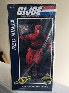 Red Ninja GI Joe - Sideshow Exclusive 12 inch figure