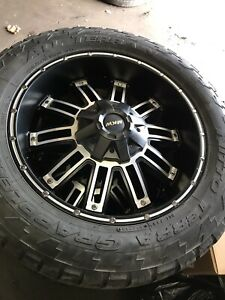 "20"" off road wheels Chevy Toyota Cadillac"