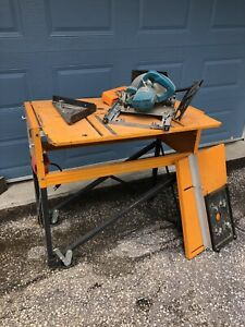 Tritan table saw and router table combo