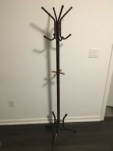 15 Hooks Clothes Rack Stand