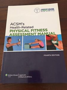 Textbook ACSM's Health Related Physical Fitness Assessment Manual Wavell Heights Brisbane North East Preview