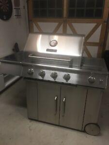 Kitchen aid propane bbq