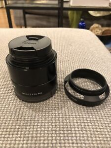 Sigma 19mm F2.8 Lens for sony E-Mount