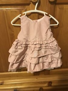 Rose Pink 6-12 Month Baby Girl Dress