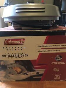 Coleman Side Solutions ROTISSERIE/OVEN OR BEST OFFER