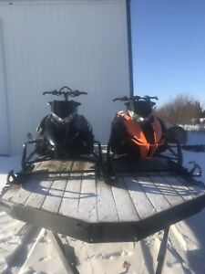 2 arctic cats high country and f800 2012