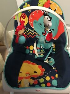 Infant to toddler rocker chair