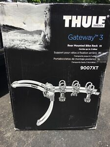 THULE Gateway 3-Bike Car Rack - New!
