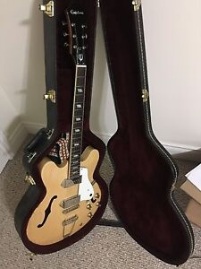 Epiphone Casino with hard shell case