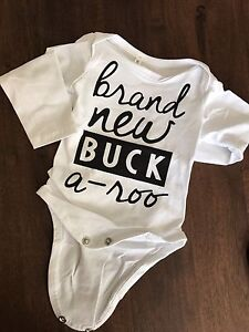 Baby buck outfit- 3-6 mo