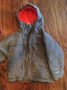 3T North Face Insulated Winter Coat