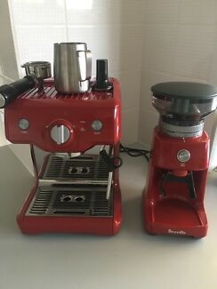 Breville Duo-Temp Pro Esspresso Machine & Coffee Grinder