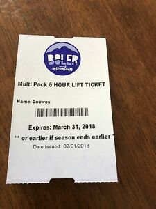 6 Hour Lift Ticket Boler