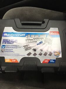 95 Piece Master craft set brand new . Never opened. 75 O.B.O.