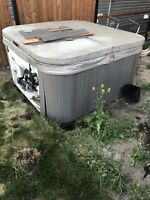 Need help in Airdrie to move hot tub