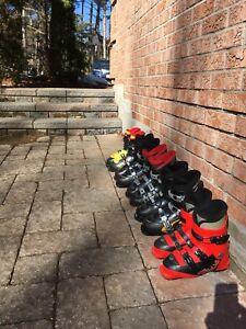 Children's Ski boots - used