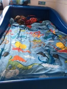 Race Car Bed Blue -Twin size