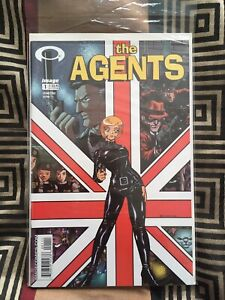 The Agents 1-6 NM: 1st Appearance of the Walking Dead!