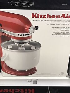 Ice cream maker - new no box $90