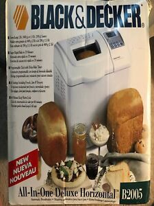 Black And Decker All In One Breadmaker Buy Or Sell Home