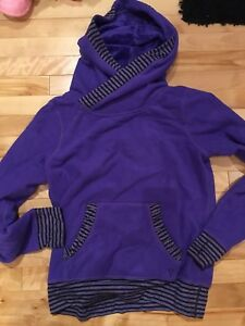 Iviva purple fleece