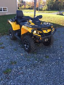 2014 Can-Am Outlander Max XT 650 w/ plow