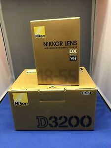Brand New Nikon D3200 With 18-55mm Lens