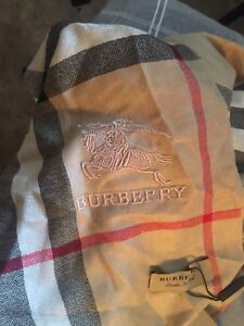 Giant cashmere Burberry scarf