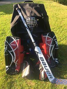 Goalie gear junior full set