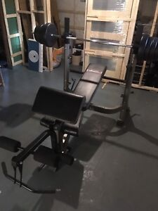 Bench press multi fonctions